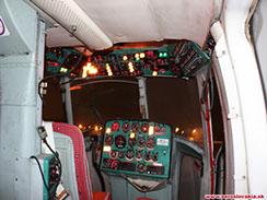 Kokpit vrtuľníka Mil Mi-2