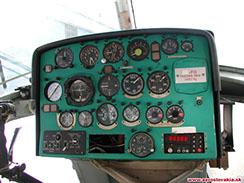 Palubná doska vrtuľníka Mil Mi-2