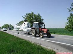Preprava vrtuľníka Mil Mi-2